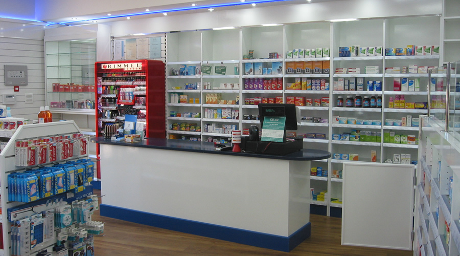 Grove Pharmacy one of our most recent projects.
