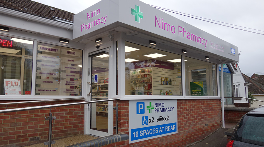 Nimo Pharmacy, Poole.