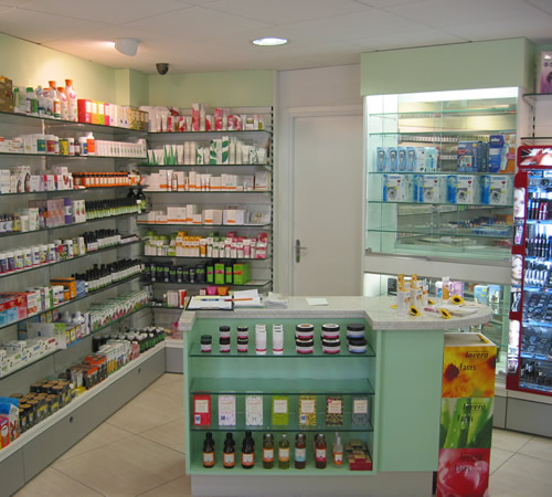 Fairlee Pharmacy Shelving and Consultation Room