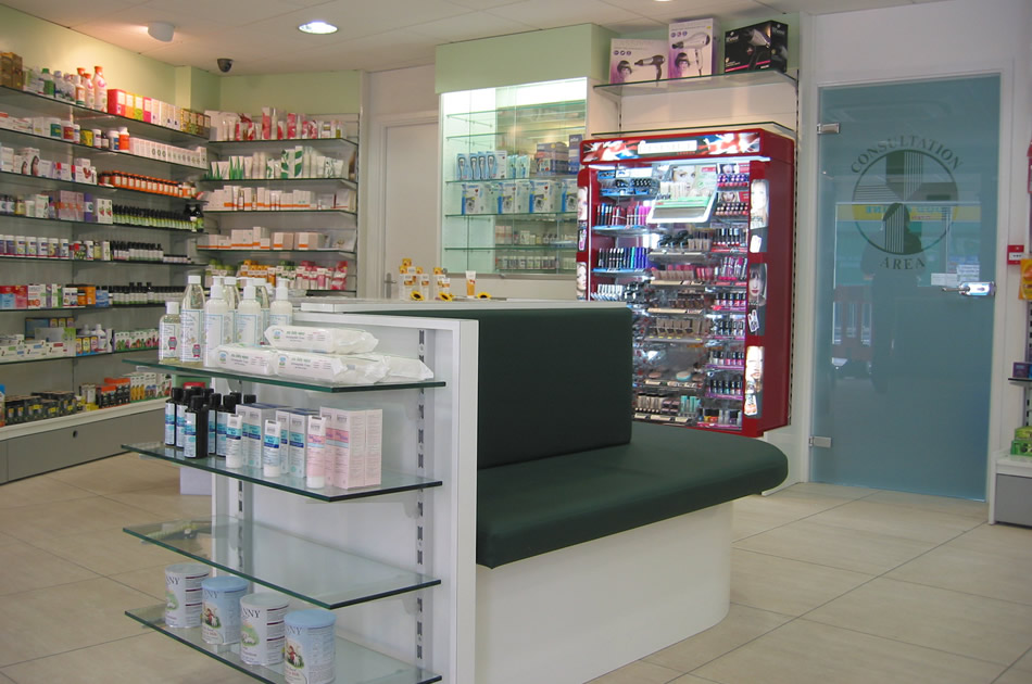 Pharmacy Consultation Entrance