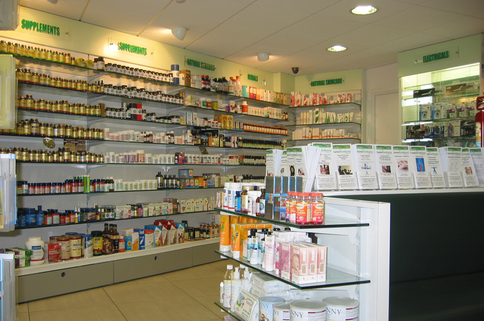 Inside Fairlee Pharmacy